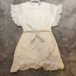 White eyelet dress by Esley